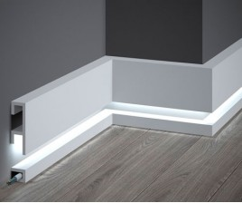 Vloerplint LED QL.019+021